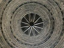 Abstrakt begrepp för modellen för stålmetallplattan texturerar bakgrund Royaltyfria Bilder