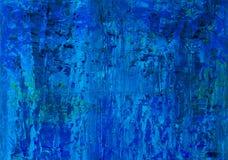 Abstrakt begrepp för olje- målning Royaltyfria Bilder
