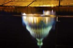 Abstrakt begrepp för reflexion för USA-KapitoliumWashington DC Royaltyfri Foto