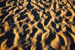Abstrakt begrepp för sanddyn Royaltyfria Foton