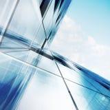 Abstrakt begrepp för skyskrapa Arkivfoto