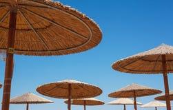 Abstrakt begrepp för solparaply Fotografering för Bildbyråer