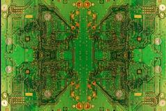 Abstrakt begrepp för strömkretsbräde Arkivbild