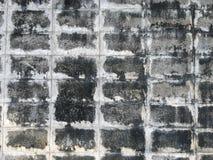 Abstrakt begrepp för väggtegelstenbetong Arkivfoton
