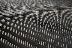 Abstrakt begrepp försilvrar bladet belägger med metall sågar högen, bransch, Royaltyfria Foton