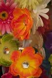 Abstrakt begrepp fejkar blommor Royaltyfri Bild