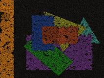 abstrakt begrepp figures geometriskt Royaltyfria Foton