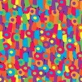 abstrakt begrepp figures roligt seamless Royaltyfri Fotografi