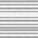 Abstrakt begrepp fodrad bakgrund, stil för optisk illusion kaotiska linjer Arkivfoton