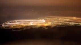 Abstrakt begrepp fodrar på en brun bakgrund Arkivfoto
