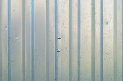 Abstrakt begrepp galvaniserad bakgrund för järntexturmodell Royaltyfri Bild