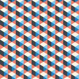Abstrakt begrepp geometrisk bakgrund som är färgrik, spektrum Arkivfoto