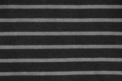 Abstrakt begrepp gjord randig svartvit tygtextur Arkivfoto