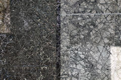 Abstrakt begrepp: Gray Wall Royaltyfria Bilder