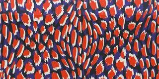 Abstrakt begrepp Hand-dragen modell för vektor för djur hud sömlös Organiska fragment Nyckfull fläcktextur royaltyfri illustrationer