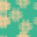 Abstrakt begrepp hashed fyrkantmodell Arkivbild