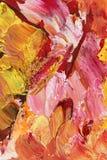 Abstrakt begrepp i pastellfärgade signaler av rosa färger och guld Royaltyfri Foto