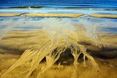abstrakt begrepp i strand Royaltyfria Foton
