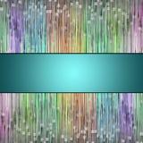 Abstrakt begrepp illustrerade den glass bakgrundsmodellen Royaltyfri Bild