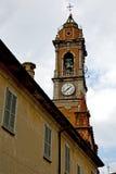 abstrakt begrepp Italien för solig dag klockan för kyrkligt torn Arkivbild
