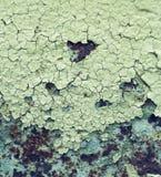 Abstrakt begrepp korroderade målarfärg för skalning för väggen för färgrikt järn för tapetgrungebakgrund rostig konstnärlig Royaltyfri Fotografi