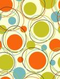 abstrakt begrepp kretsar kring den seamless modellen vektor illustrationer
