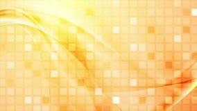 Abstrakt begrepp kvadrerar mosaiken och vinkar den videopd animeringen stock video