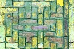 Abstrakt begrepp målad lerategelstentextur Fotografering för Bildbyråer