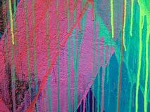 Abstrakt begrepp målad modell Fotografering för Bildbyråer