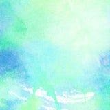Abstrakt begrepp målad vattenfärgbakgrund Royaltyfri Fotografi
