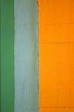 abstrakt begrepp målade stuckaturväggen Fotografering för Bildbyråer