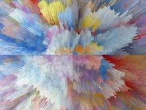 Abstrakt begrepp målning bild textur texturerat unikhet Royaltyfria Bilder
