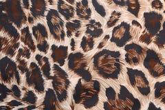 Abstrakt begrepp med leopardtextur Arkivfoto