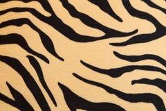 Abstrakt begrepp med textur för Bengal tiger Arkivfoton