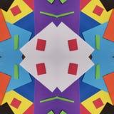 abstrakt begrepp med utklipp av skummande i regnbågefärger, bakgrund och textur Fotografering för Bildbyråer