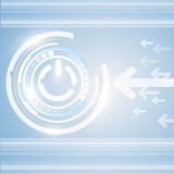 Abstrakt begrepp- och teknologibakgrund. eps10 Arkivbild