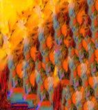 Abstrakt begrepp på exponeringsglas Fotografering för Bildbyråer