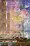 Abstrakt begrepp på kanfastorkduken Arkivfoton