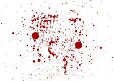 Abstrakt begrepp plaskar bakgrund för röd färg illustrationvect Royaltyfria Bilder