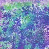 Abstrakt begrepp plaskar digital målning Fotografering för Bildbyråer