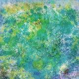 Abstrakt begrepp plaskar digital målning Arkivbilder