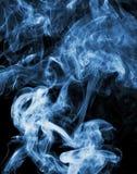 Abstrakt begrepp röker Arkivfoton