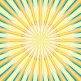 abstrakt begrepp rays sunen Royaltyfri Fotografi