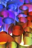 abstrakt begrepp shapes stål Fotografering för Bildbyråer