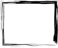 Abstrakt begrepp skissad gränsdesign Arkivfoton