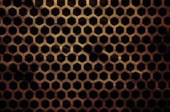 Abstrakt begrepp skrapat metallraster Royaltyfria Foton