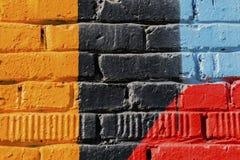 Abstrakt begrepp som är detal av stads- närbild för gatakonstdesign Graffity vägg Modern iconic stads- kultur, stilfull modell fö royaltyfri bild