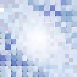 Abstrakt begrepp som är geometriskt med beståndsdelar Arkivfoto