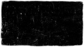 Abstrakt begrepp som är smutsigt eller åldras filmramen arkivfoto