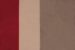 Abstrakt begrepp som är tricolor i röda färger Royaltyfria Foton